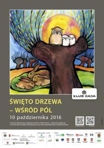 """Plakat """"Święto Drzewa - wśród pól"""""""