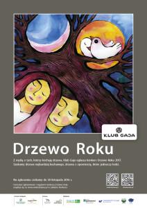 Drzewo Roku 2017 plakat